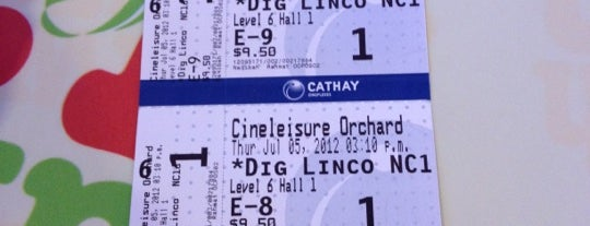 Cineleisure Orchard is one of Simply Singapore.