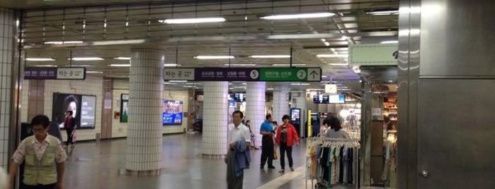 까치산역 (Kkachisan Stn.) is one of Subway Stations in Seoul(line1~4 & DX).