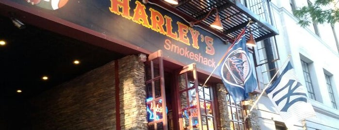 Harley's Smokeshack is one of BBQ-To-Do List.