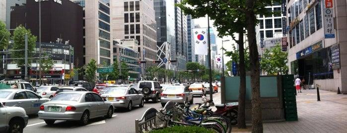 선릉역 (Seolleung Stn.) is one of Subway Stations in Seoul(line1~4 & DX).