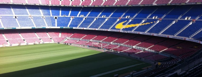 Camp Nou is one of Dream Destinations.