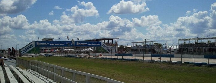 Sebring International Raceway is one of Racetracks.