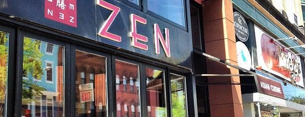 Zen Restaurant is one of Western Mass Faves.