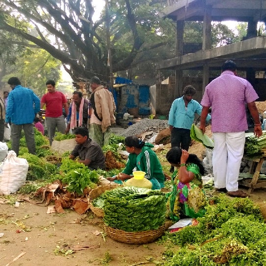 Sarakki Vegetables Market
