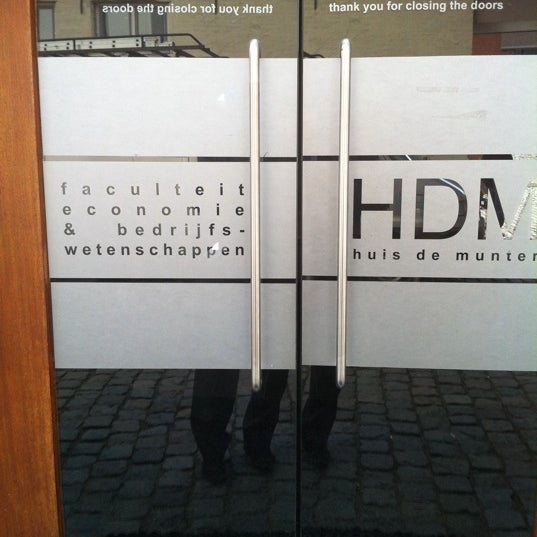 Faculteit Economie en Bedrijfswetenschappen, K.U.Leuven