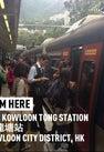 MTR Sha Tin Station...
