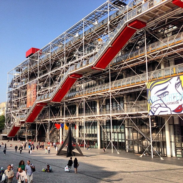 centre pompidou mus 233 e national d moderne museum place georges pompidou in