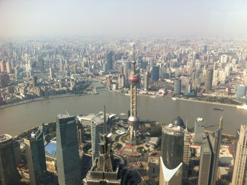 Sky Walk 100 Shanghai World Financial Centre