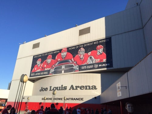 Home of the Detroit Red Wings