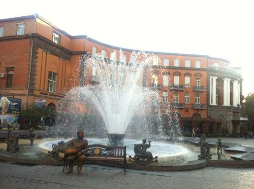 Charles Aznavour Square | Շարլ Ազնավուրի հրապարակ