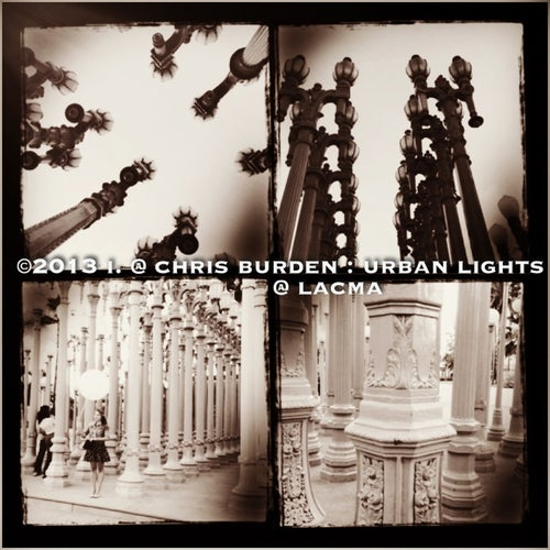 Chris Burden: Urban Light @ LACMA