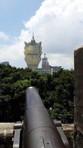 Fortaleza do Monte 大炮台