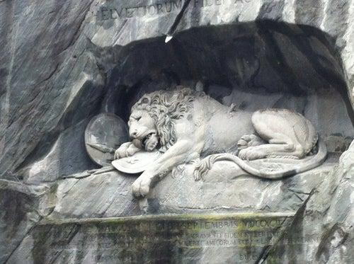 Löwendenkmal (Lion Monument)