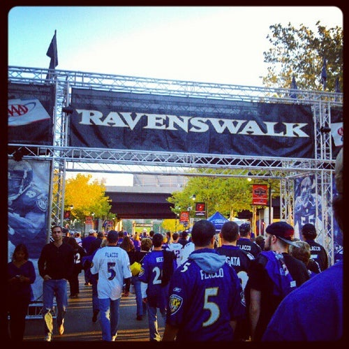 Ravens Walk @ M&T Bank Stadium