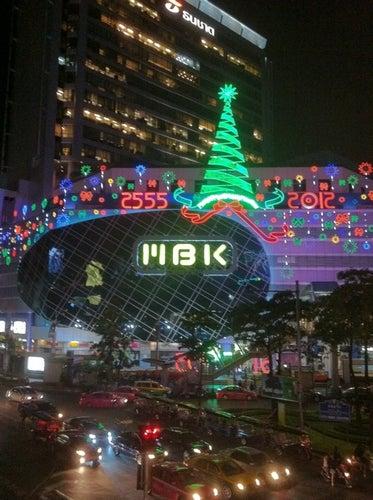BTS/MBK/Siam Discovery Skywalk (ทางเดินยกระดับ)