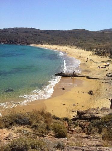 Άγιος Σώστης (Agios Sostis Beach)