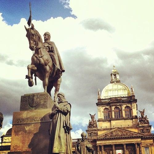 Socha svatého Václava | Saint Wenceslas statue
