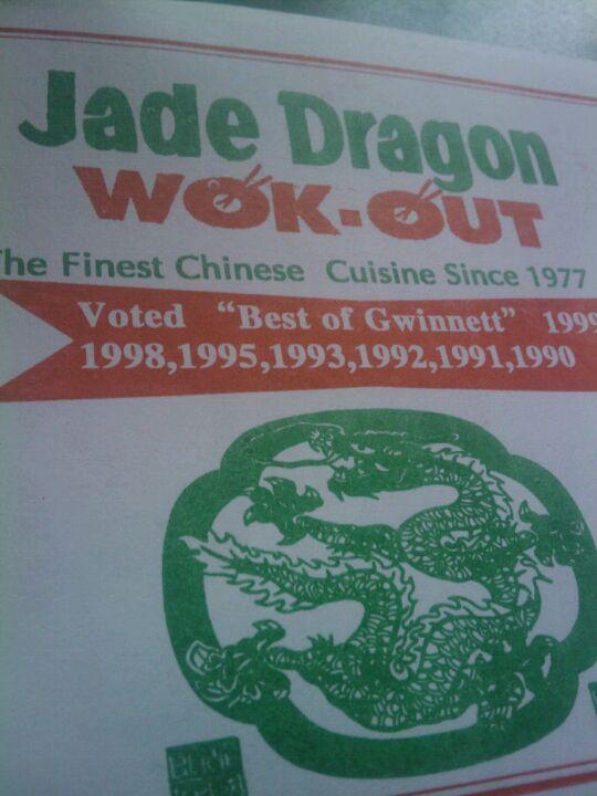Jade Dragon Wok-Out,