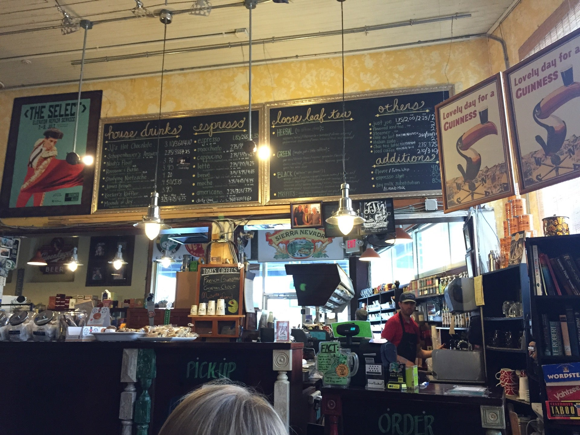 J And J's Market And Cafe,beer,coffee