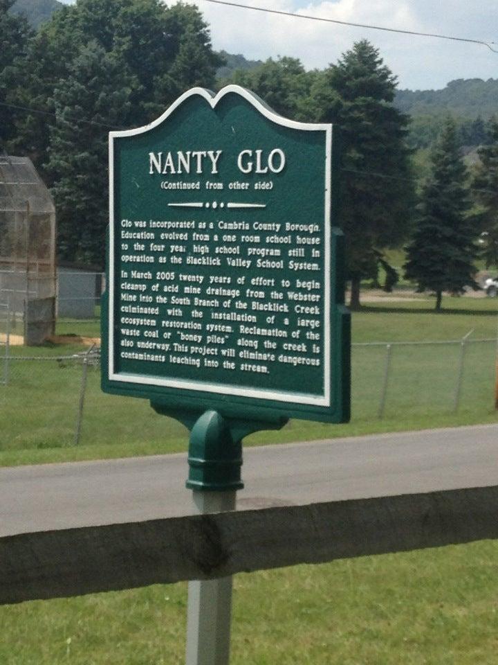 Nanty Glo House,