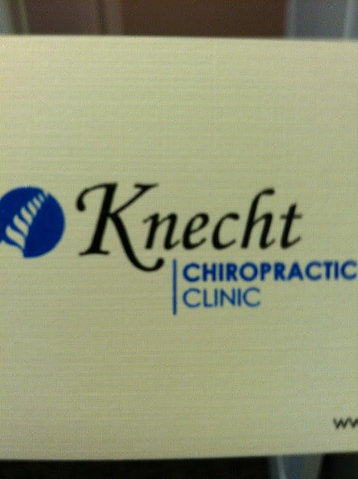 KNECHT CHIROPRACTIC CLINIC,chiropractor