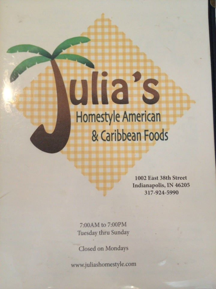 Julia's Homestlye American and Caribbean Foods,