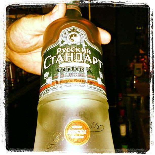 Red Square Caviar Bar,the best martinis and caviar