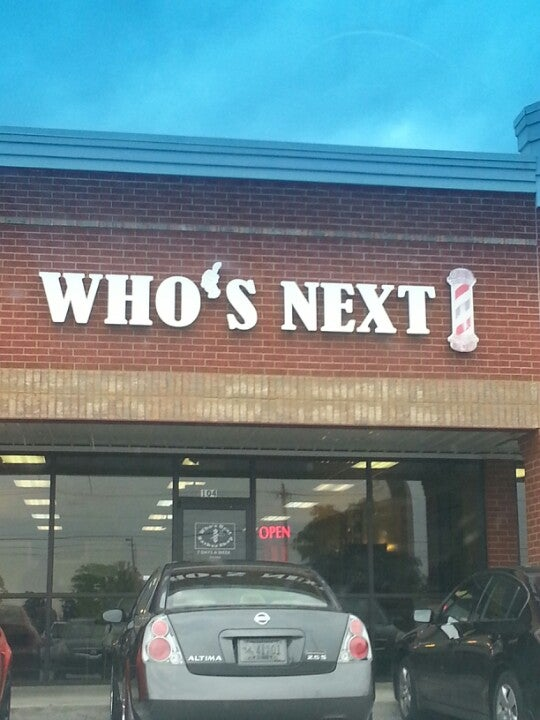 WHO'S NEXT BARBER SHOP,
