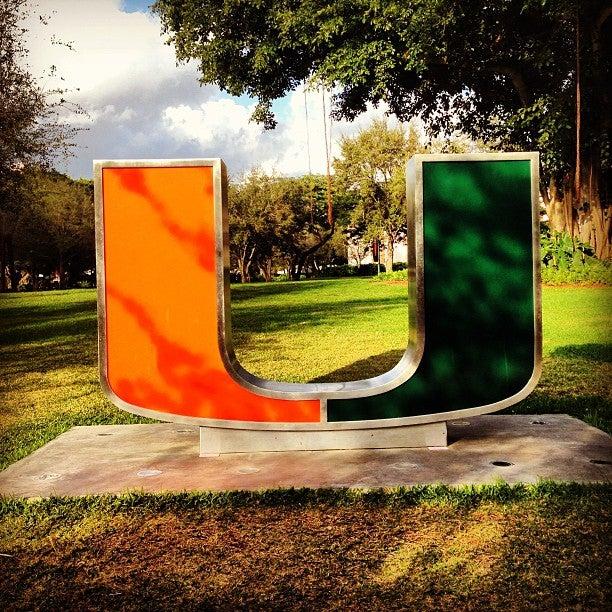 University of Miami,academics,art,canes,college,hurricanes,music,orange and green,university