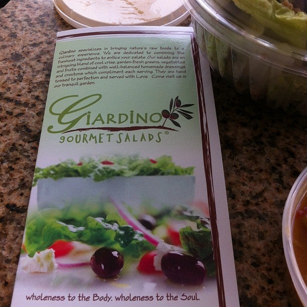 GIARDINO GOURMET SALADS,healthy