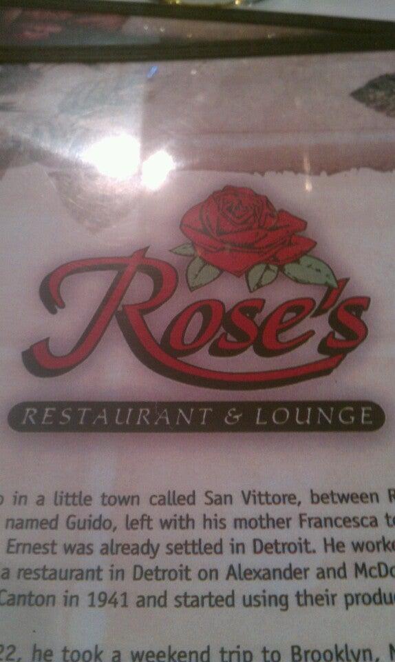 Rose's Restaurant & Lounge