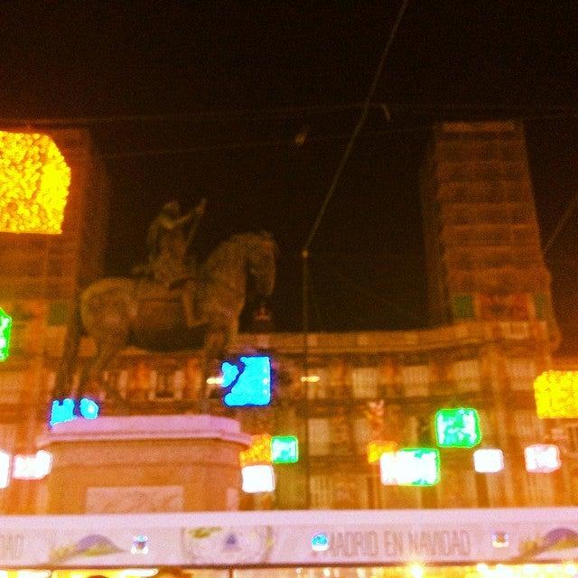 Emilio just checked in @ Plaza Mayor (Madrid, España)