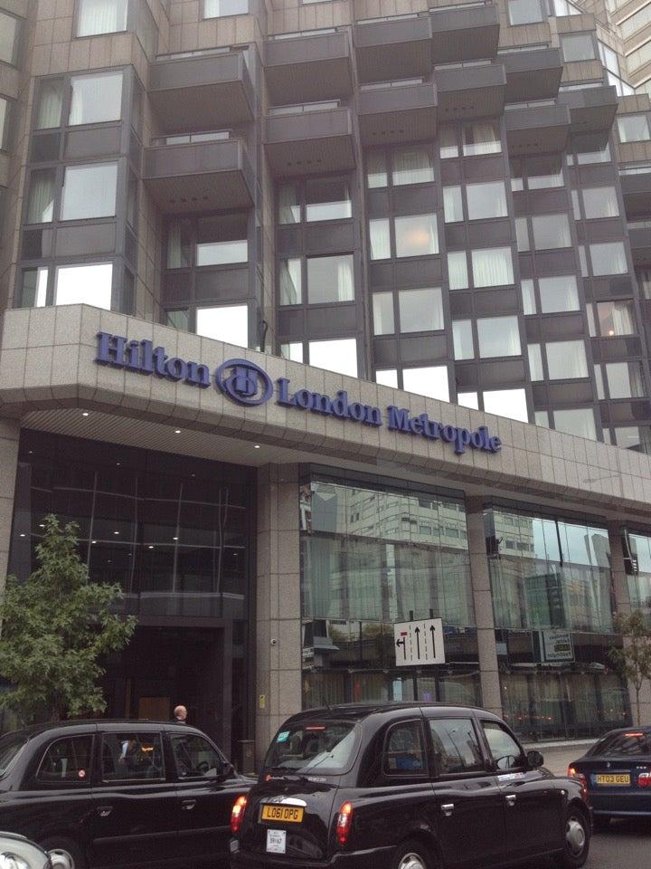 Emilio just checked in @ Hilton London Metropole Hotel (London, United Kingdom)