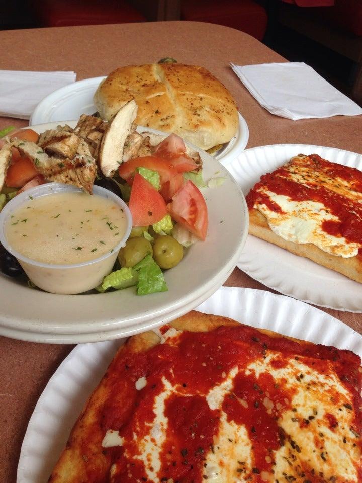 Ancona Pizzeria & Heroes,calzone,pizza