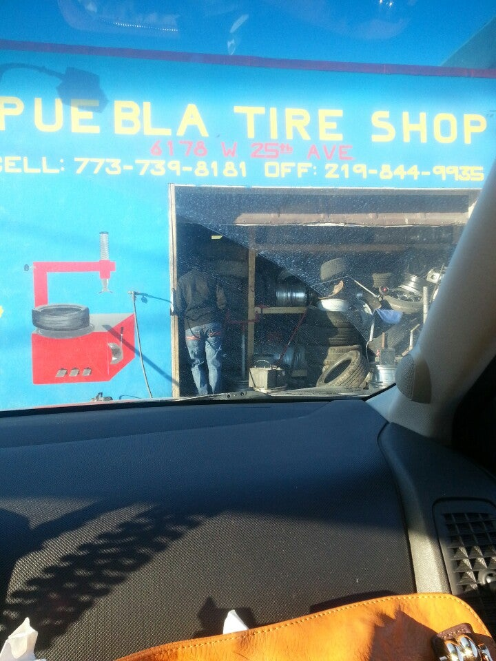 Puebla Tire Shop,