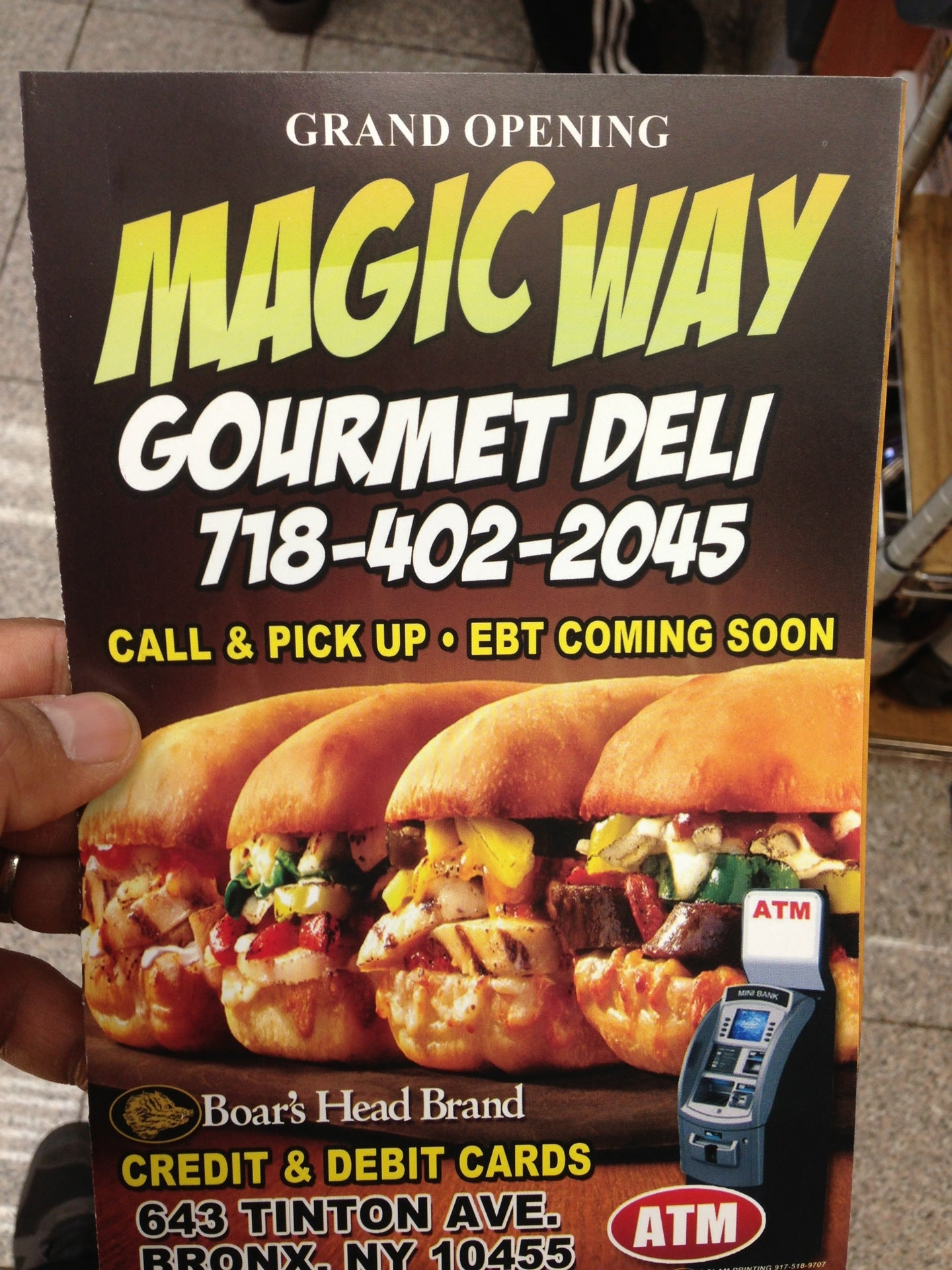 Magic Way Deli,
