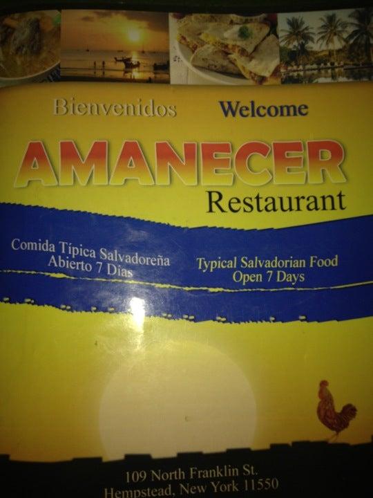 Amanecer Restaurant,