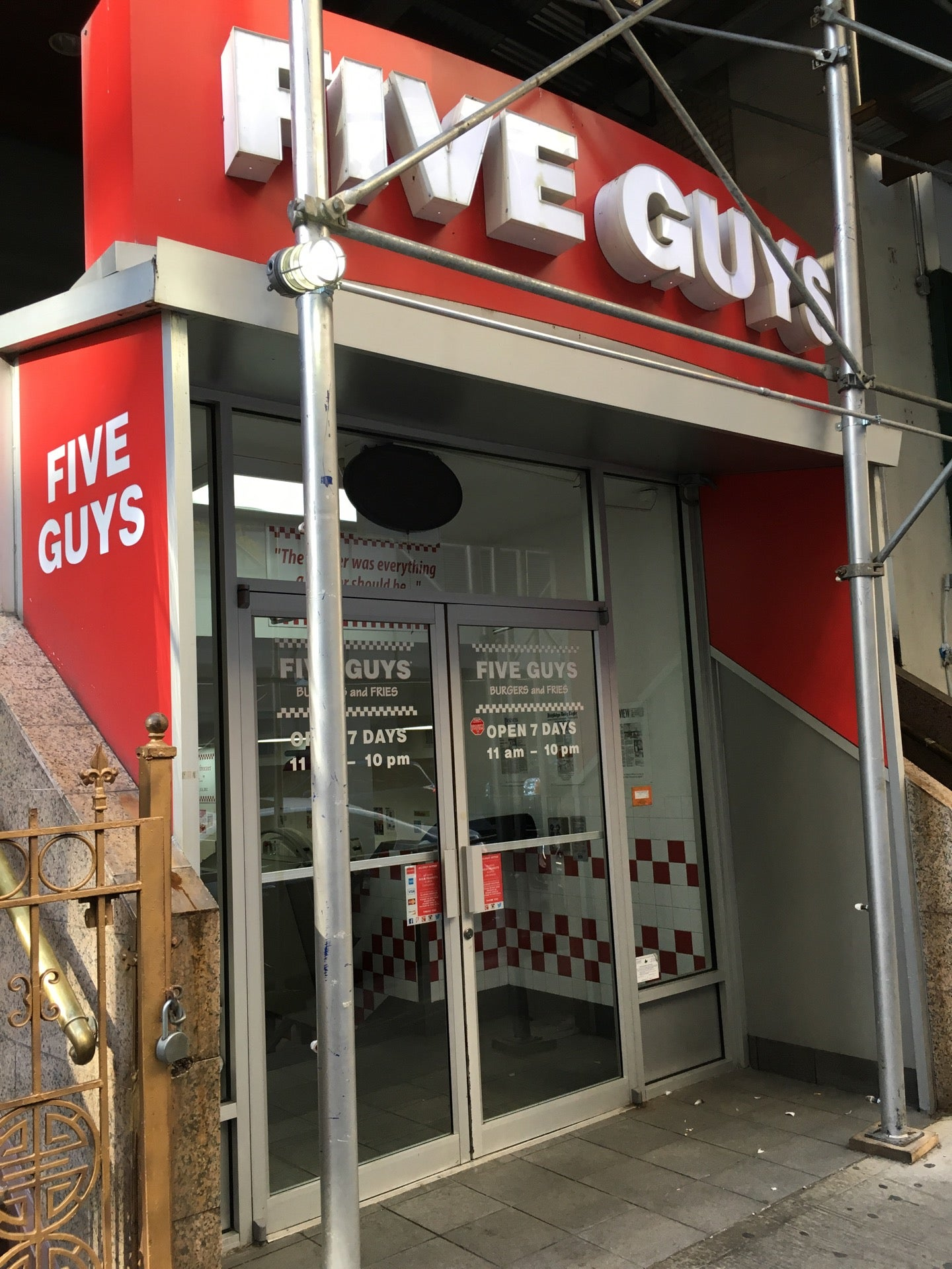 Five Guys Burgers and Fries,burgers,fries