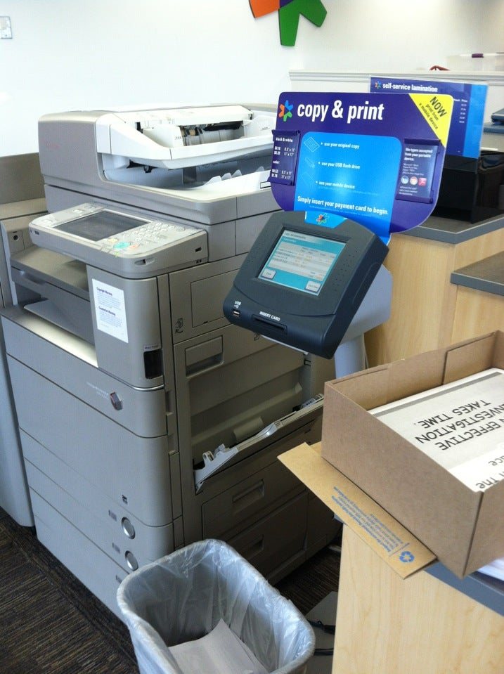 FEDEX OFFICE PRINT & SHIP CENTER,