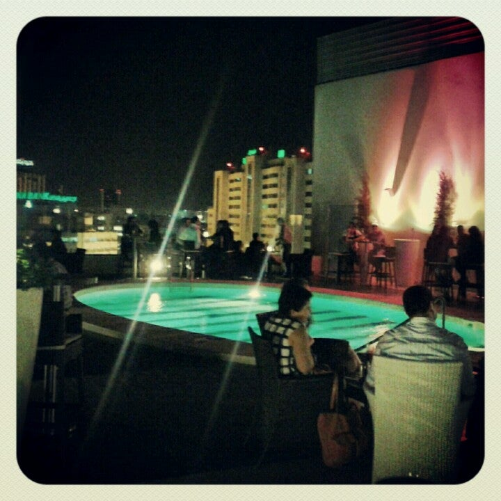 Sky Bar Novotel Hotel Tunis