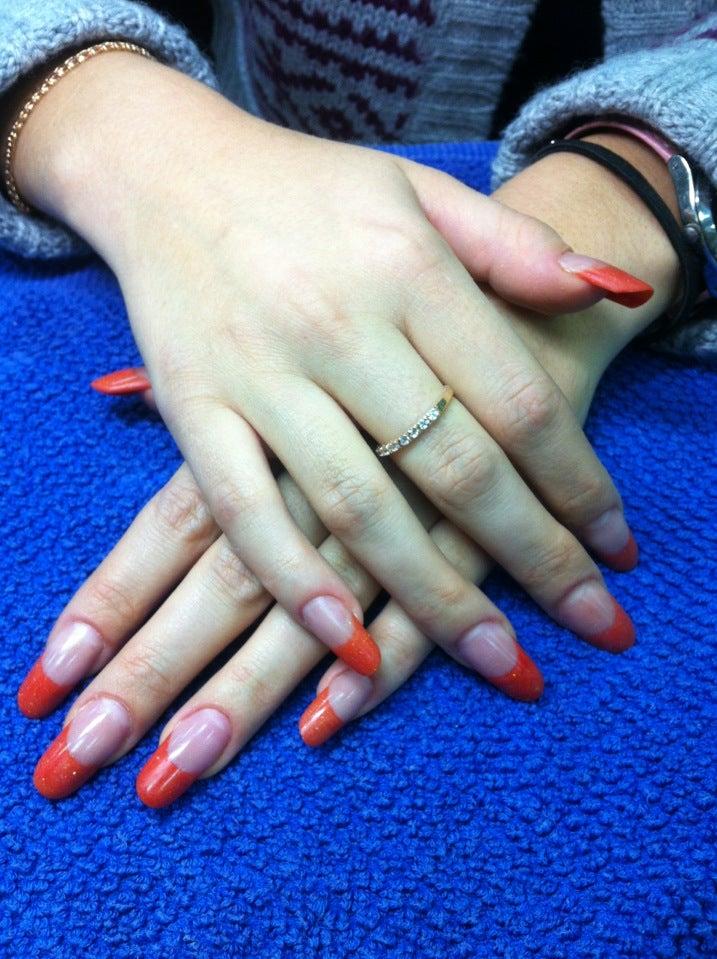 Дизайн ногтей василеостровская