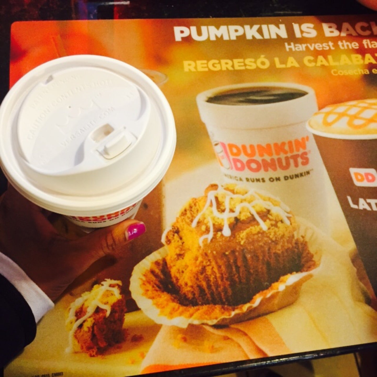 Dunkin' Donuts,bagels,coffee,donut shop,donuts,donuts, muffins, bagels, coffee(iced or hot), tea(iced or hot), sandwiches(hot or cold), ice cream,food,ice cream,muffins,sandwiches,tea