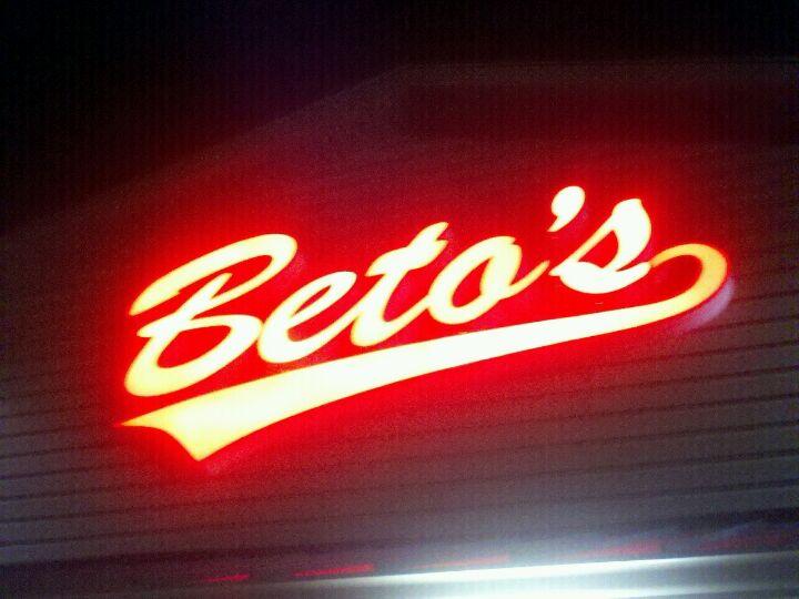 Beto's Pizza & Restaurant,pizza