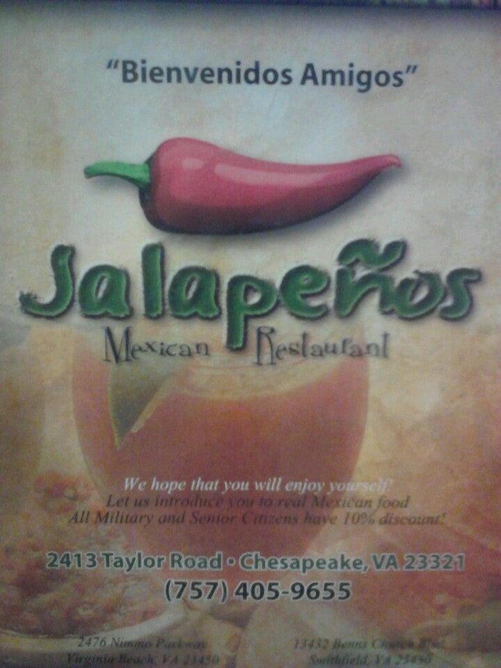JALAPENOS MEXICAN RESTAURANT,