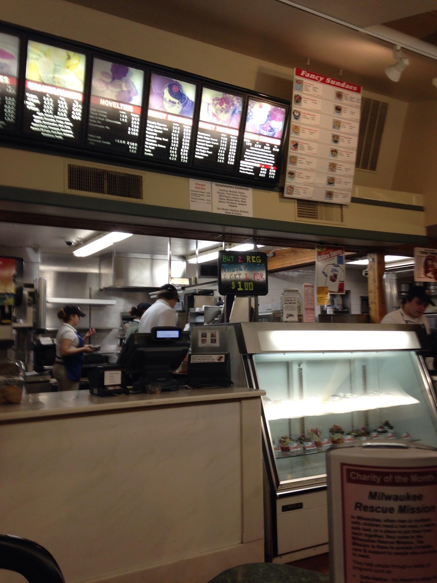 Gilles Frozen Custard,burgers,custard