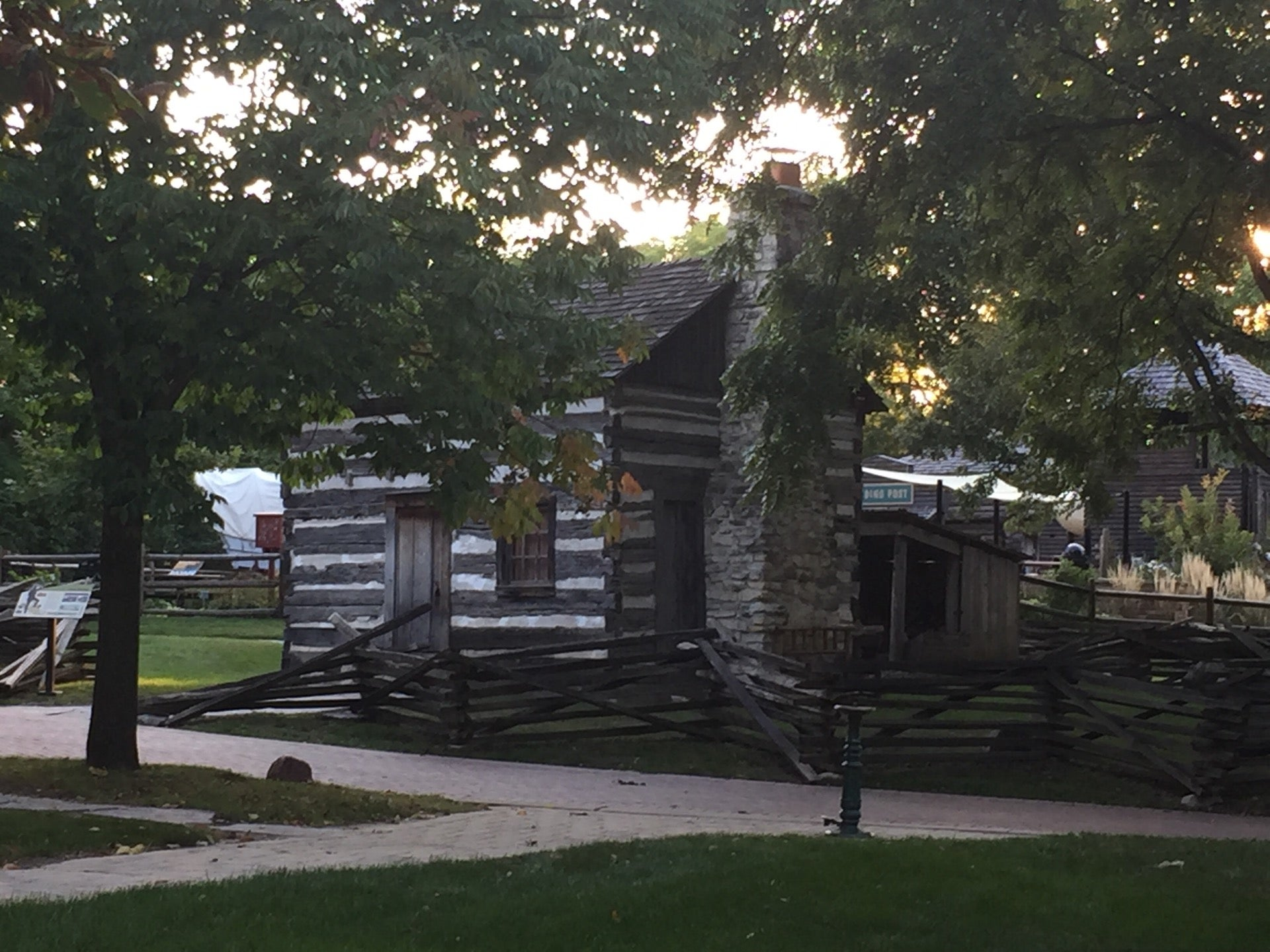 NAPER SETTLEMENT VILLAGE,a 19th- century outdoor history museum,wedding chapel