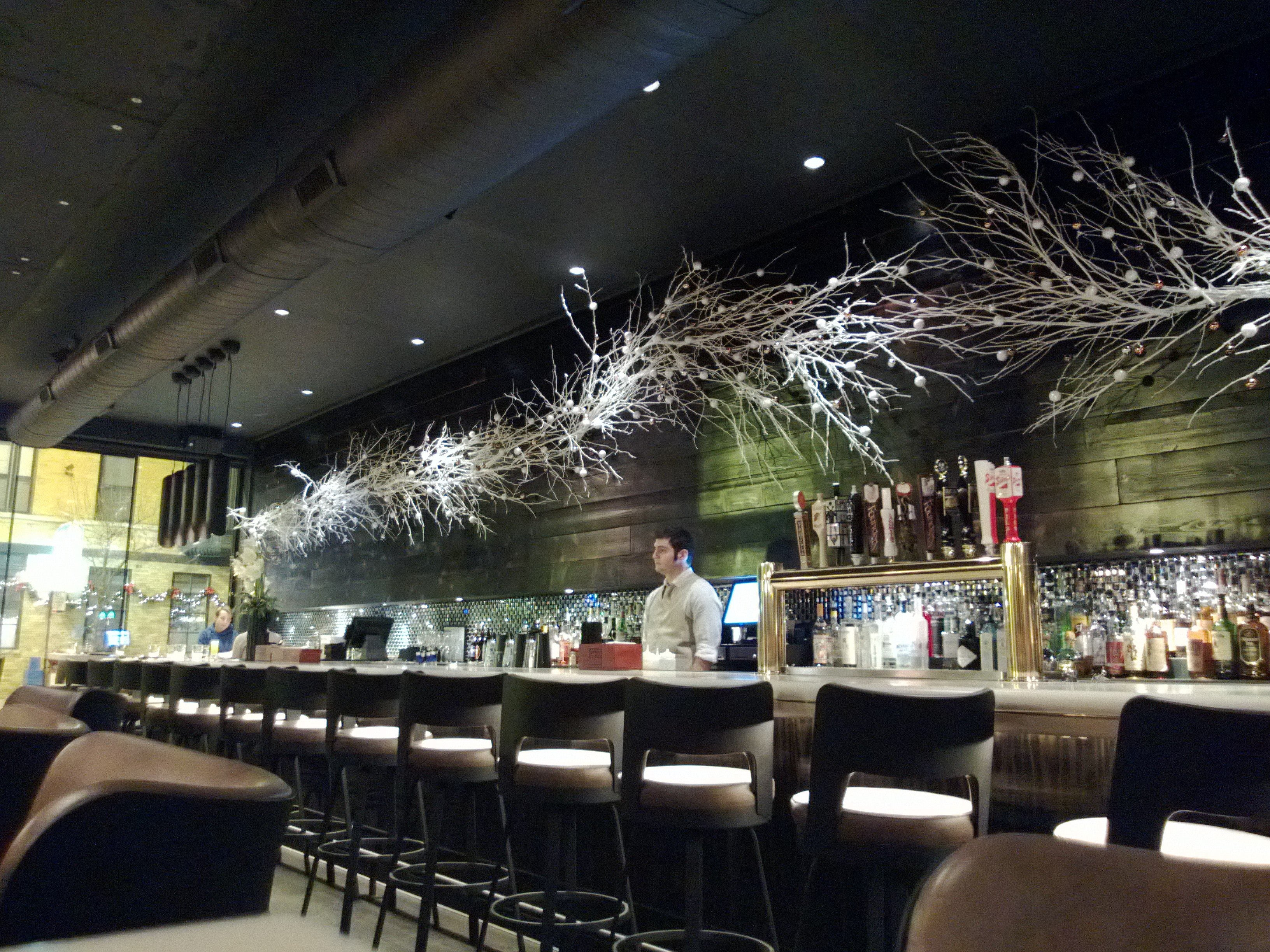 New american restaurant theater and bar in chicago we for American cuisine chicago