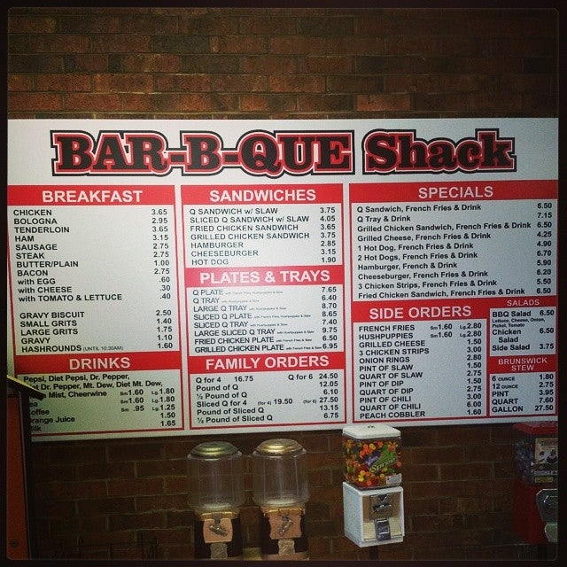 Barbecue Shack,bbq