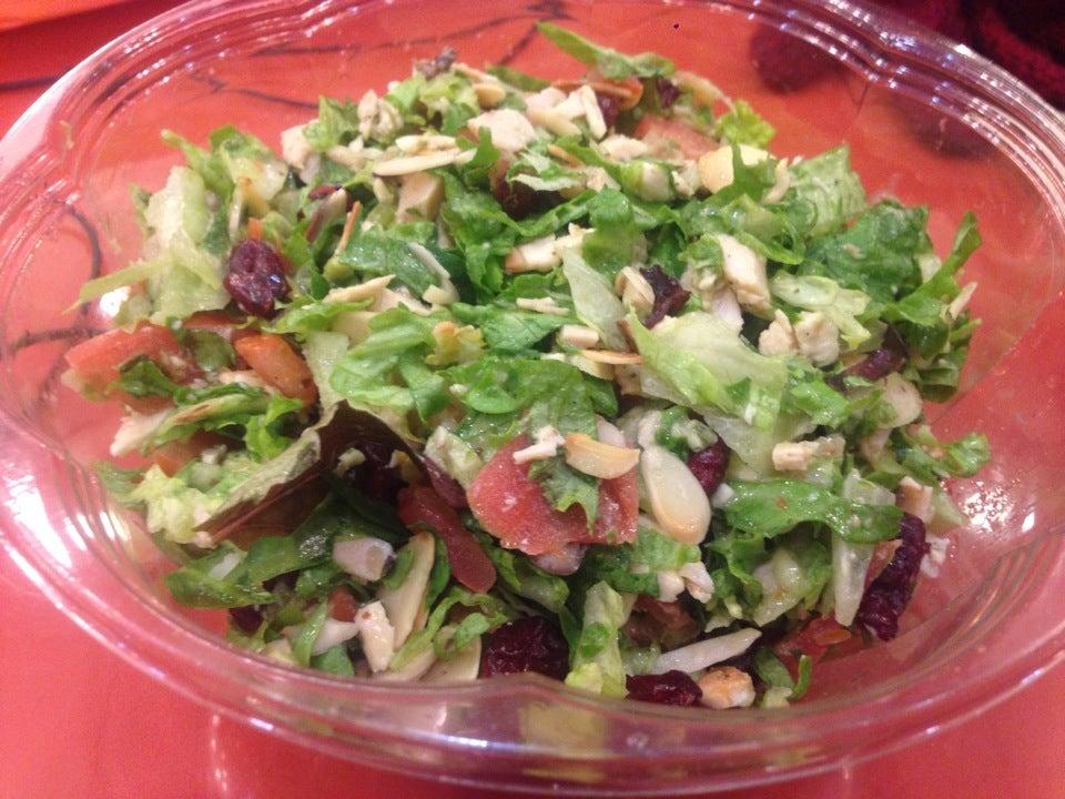 Europa Cafe,chopped salad,deli