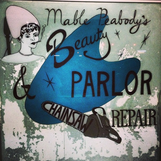 Mable Peabody Beauty Parlor and Chainsaw Repair